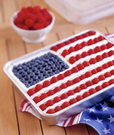 Cool Whip Flag Cake Recipe