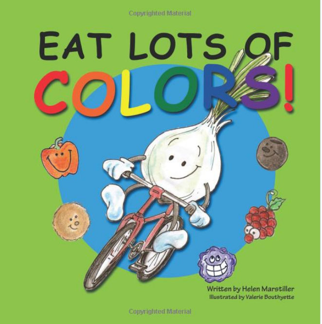 Teaching Kids About Nutrition Mysuperfoods Children S Books About Colors