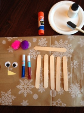 snowman craft 1