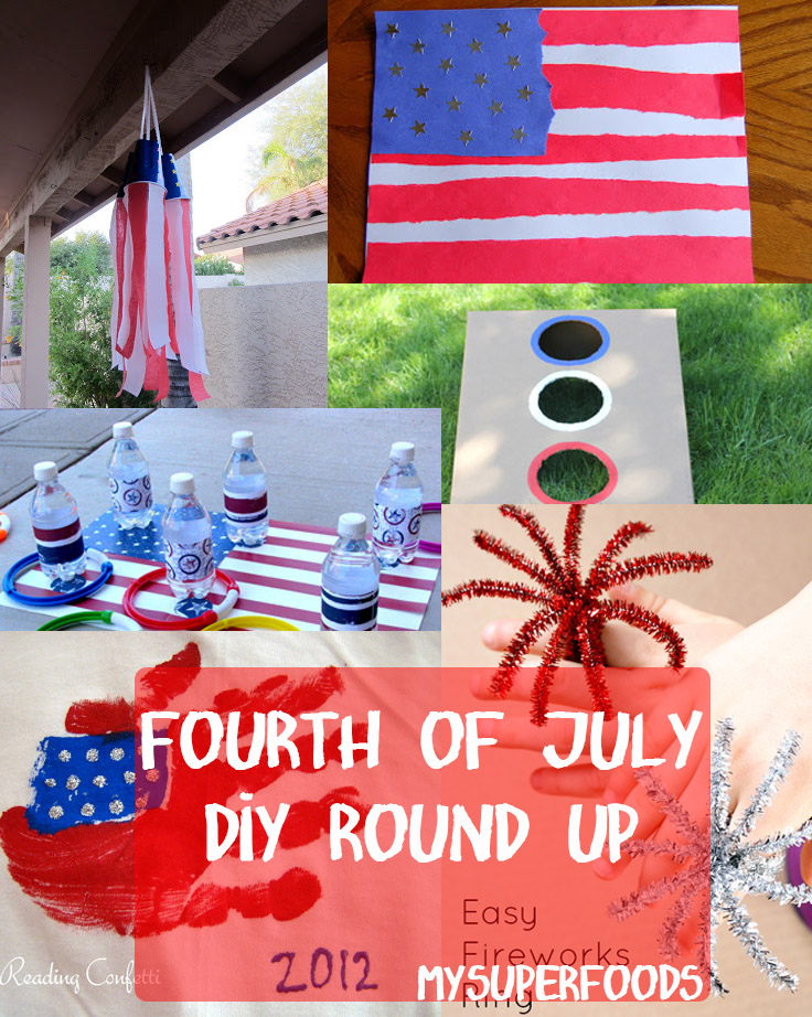 Blog round up fourth of july crafts for kids for What does the 4th of july mean