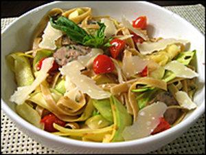 Fettucine squash