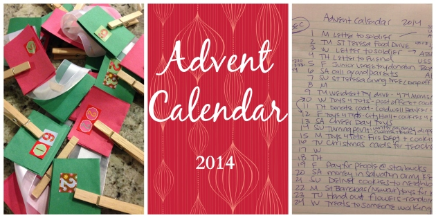 advent calendar update